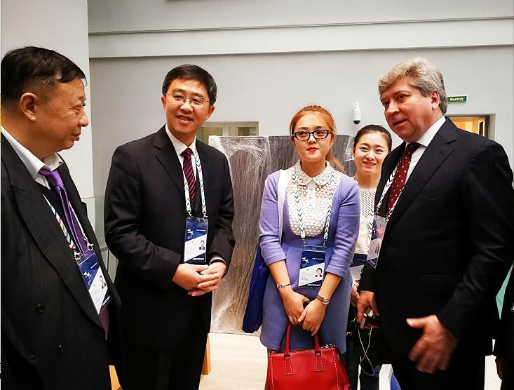张家界市政府代表团应邀参加第六届圣彼得堡国际文化论坛